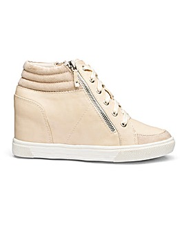 Leila Wedge Trainer EEE Fit