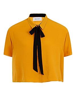 Elvi Boxy Shirt with Bow