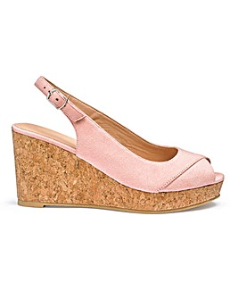 Aja Basic Wedges Extra Wide Fit
