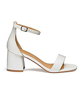 Cammy Block Heels Extra Wide Fit