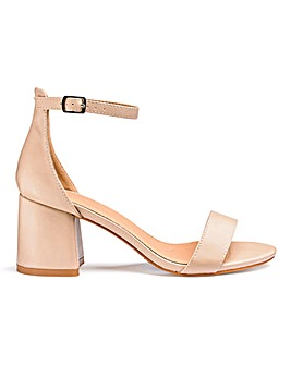 Cammy Block Heels Wide Fit