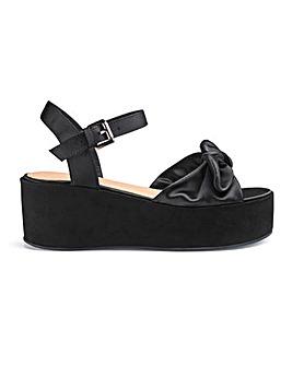 Daphne Flatform Sandals Wide Fit