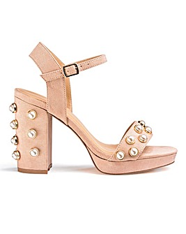 Ethne Pearl Platforms Wide Fit