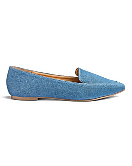 Alexa Pointed Loafer Extra Wide Fit
