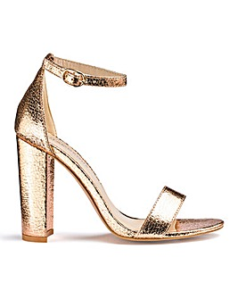 Glamorous Wide Fit Two Part Sandals