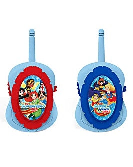 DC Superhero Girls Walkie Talkies
