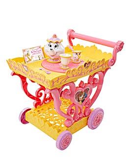 Princess Belle Talking Tea Party Cart