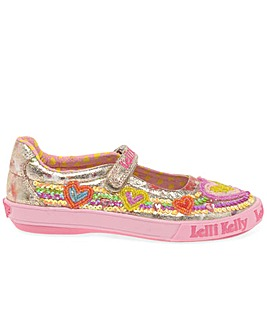 Lelli Kelly Mila Dolly Heart  Shoes