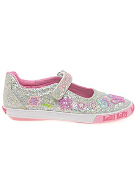 Lelli Kelly Glitter Butterfly Shoes