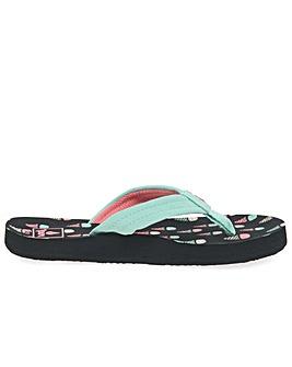 Reef Little Ahi Girls Flip Flops