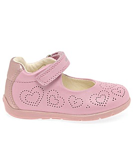 Geox Baby Kaytan Girls Heart Shoes