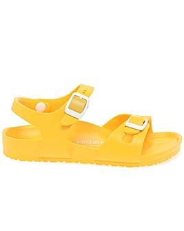 Birkenstock Rio Eva Girls Yellow Sandals