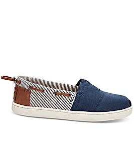 TOMS Bimini Youth Kids Canvas Shoes