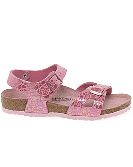 Birkenstock Rio Girls Pink Sandals