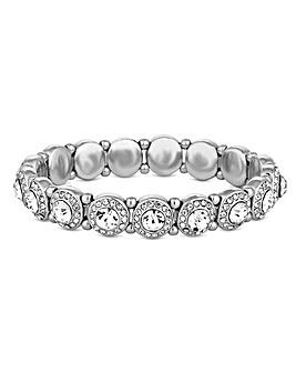 Jon Richard Crystal Halo Bracelet