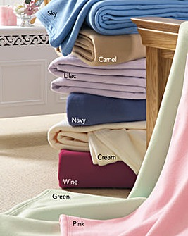 Ultra Soft Fleece Blanket