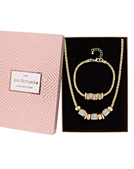 Jon Richard Glitter Charm Jewellery Set