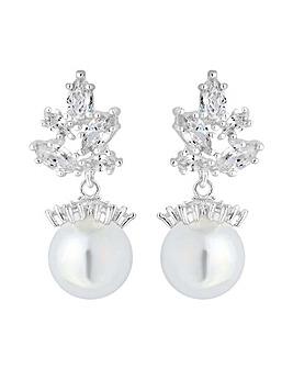 Alan Hannah Crystal Cluster Earring