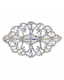Mood Aurora Borealis Crystal Hair Clip