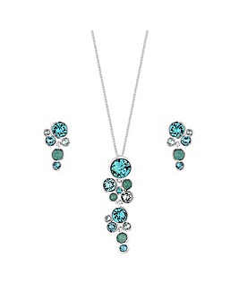 Jon Richard Shimmer Jewellery Set