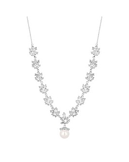 Alan Hannah Pearl Drop Necklace