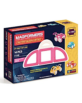 Magformers My First buggy Car Set - Pink