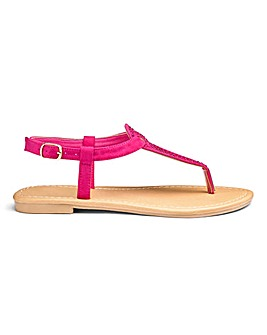 Ava Jewel Sandals EEE Fit