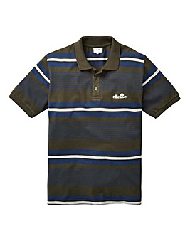 Ellesse Doria Stripe Polo Regular