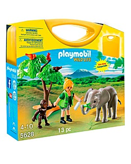 Playmobil Carrying Case Wildlife