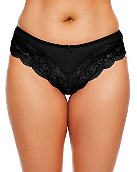 Ann Summers Sexy Black Lace Shorts