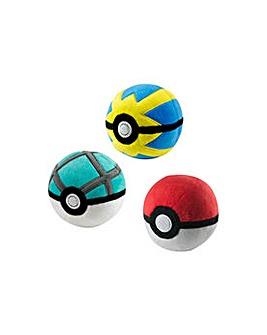 Pokemon Poke Ball Plush.