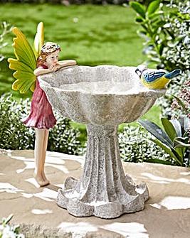 Garden Fairy Bird Bath