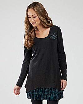 Joe Browns Easy Velour Tunic
