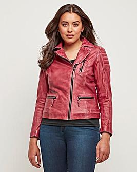 Joe Browns Rock Star Leather Jacket