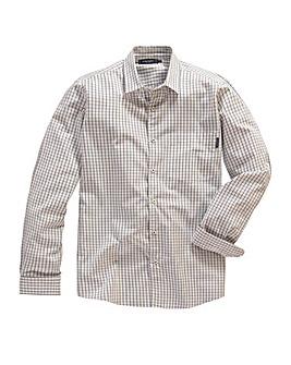 Peter Werth Elington Texture Grid Shirt