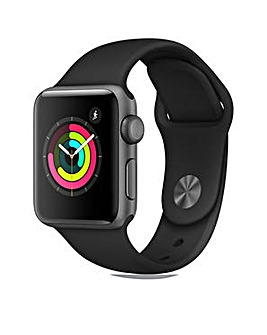 Apple S3 GPS 38m Black Sport Band