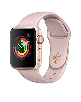Apple S3 GPS 42m Pink Sport Band