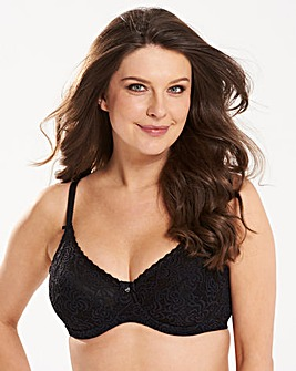 Berlei Heaven Lace Wired Bra Black