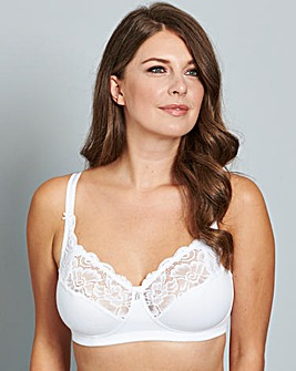 Bestform Cocoon Non Wired White Bra