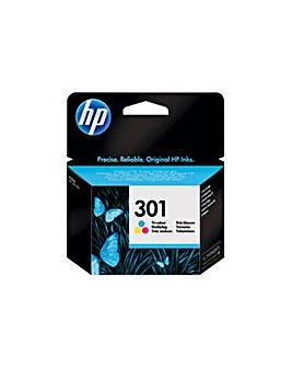 HP 301 Tri-Colour Original Ink Cartridge