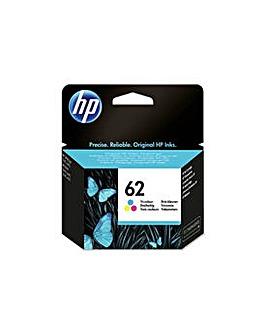 HP 62 Tri-Colour Original Ink Cartridge