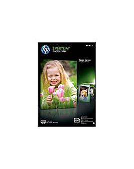 HP E-Day Photo Gloss Paper 10x15cm