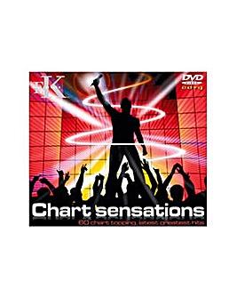 Karaoke Chart Hits CD+G and DVD Pack