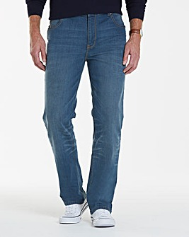 Lambretta Cyrus Stretch Jeans 33in