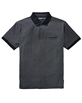French Connection Ditsy Print Polo