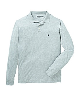 French Connection Long Sleeve Polo