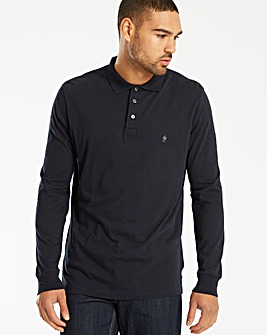 French Connection Long Sleeved Polo