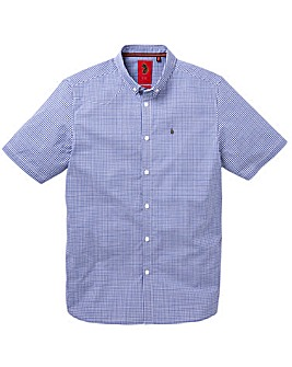Luke Sport Gingham Stretch Shirt Long