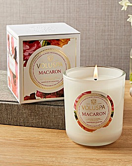 Voluspa Macaron 12oz Boxed Candle