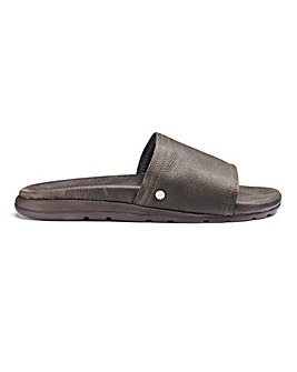 UGG Xavier Luxe Leather Sliders